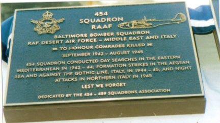 454 plaque Canberra ACT Aust