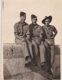 Photo taken in Alexandria DAte unknown - Jack and two mates