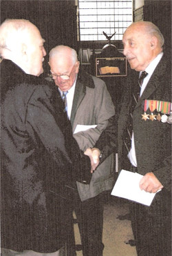 Jack Stainton Ken Rimmer and Bryan Rostron