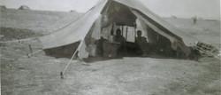 Gambut  Libya Western Desert - Dispersed tents against German attack