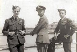 Jock, Mike & Jim Miller in Alexandria