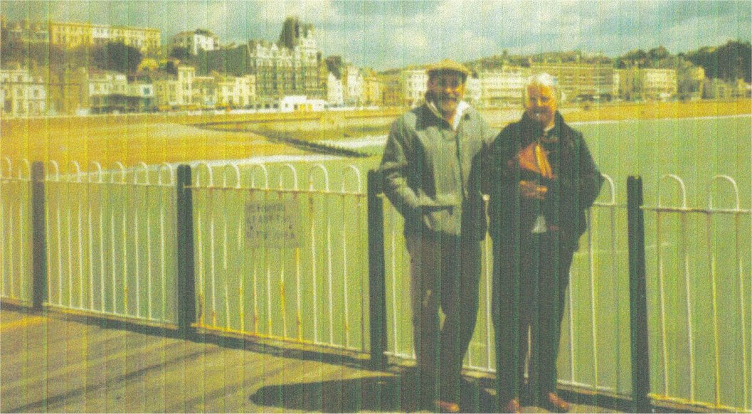 Kev and Margaret - Hastings Pier 1990