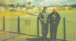 Kev and Margaret - Hastings Pier 1990