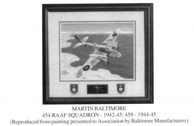 454 RAAF Martin Baltimore Plane photo