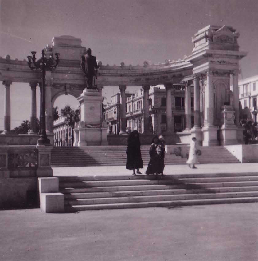 Egypt Alexandria Ismail Pasha Monument 3