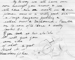 Cam Stephen crest for his Hudson 459 June 1945