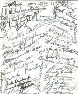 Signatures Toast Sgts Mess 454 _1945