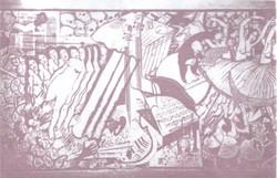 Bardia wall art titled Symphony of Life