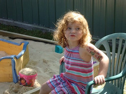 Great grand-daughter - Dakota aged 3