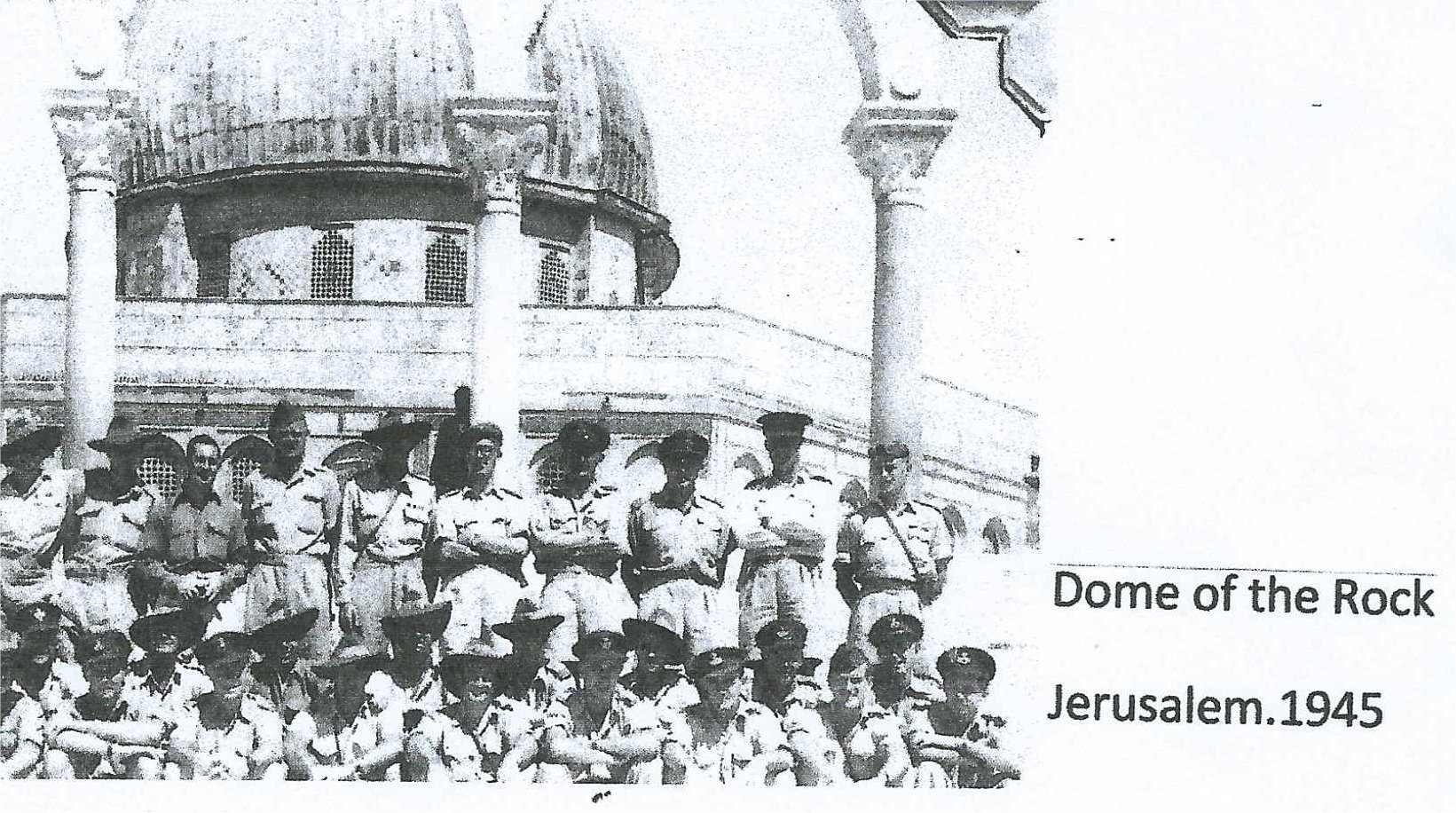 14_M Ivicevich_Dome of the Rock_Jerusalem 1945