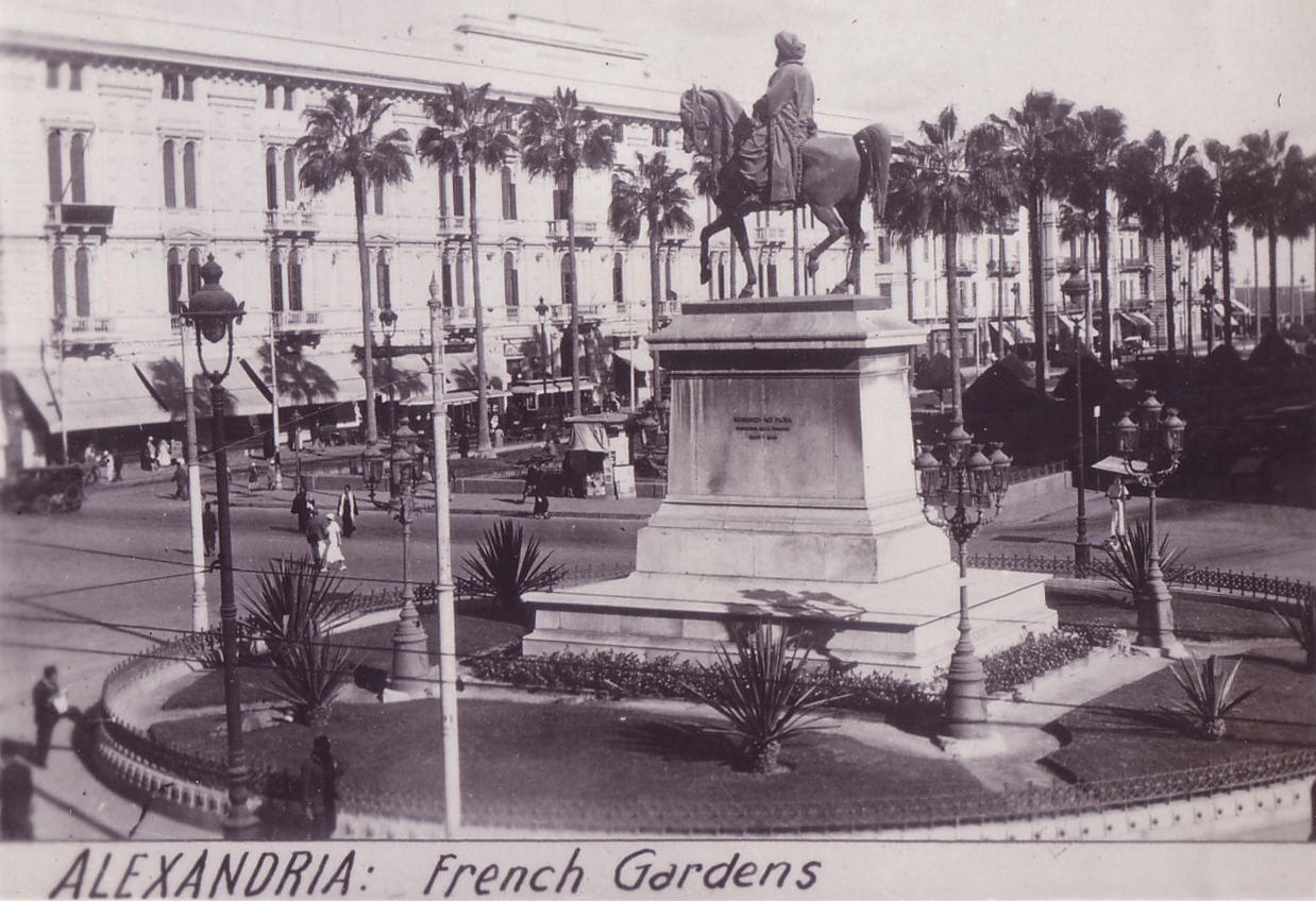 Egypt Alexandria French Garden