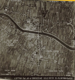 PO Valley aerial photo - Northern Italy