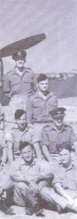 Benghazi 1944 _ 459 in front of Baltimore