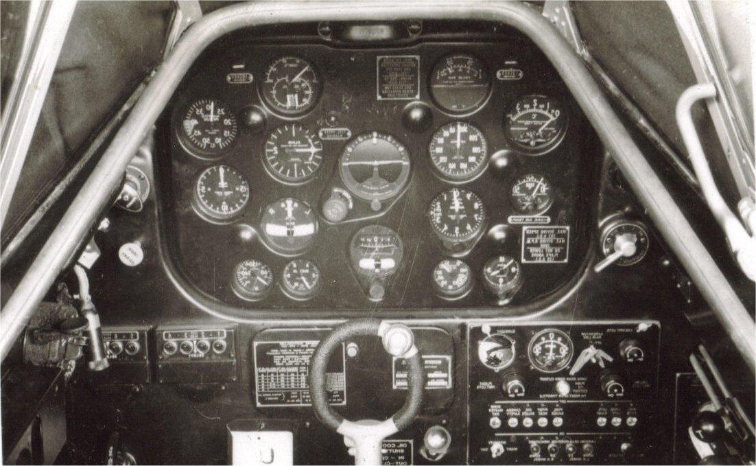Harvard cockpit