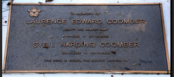 Coomber LE Plaque