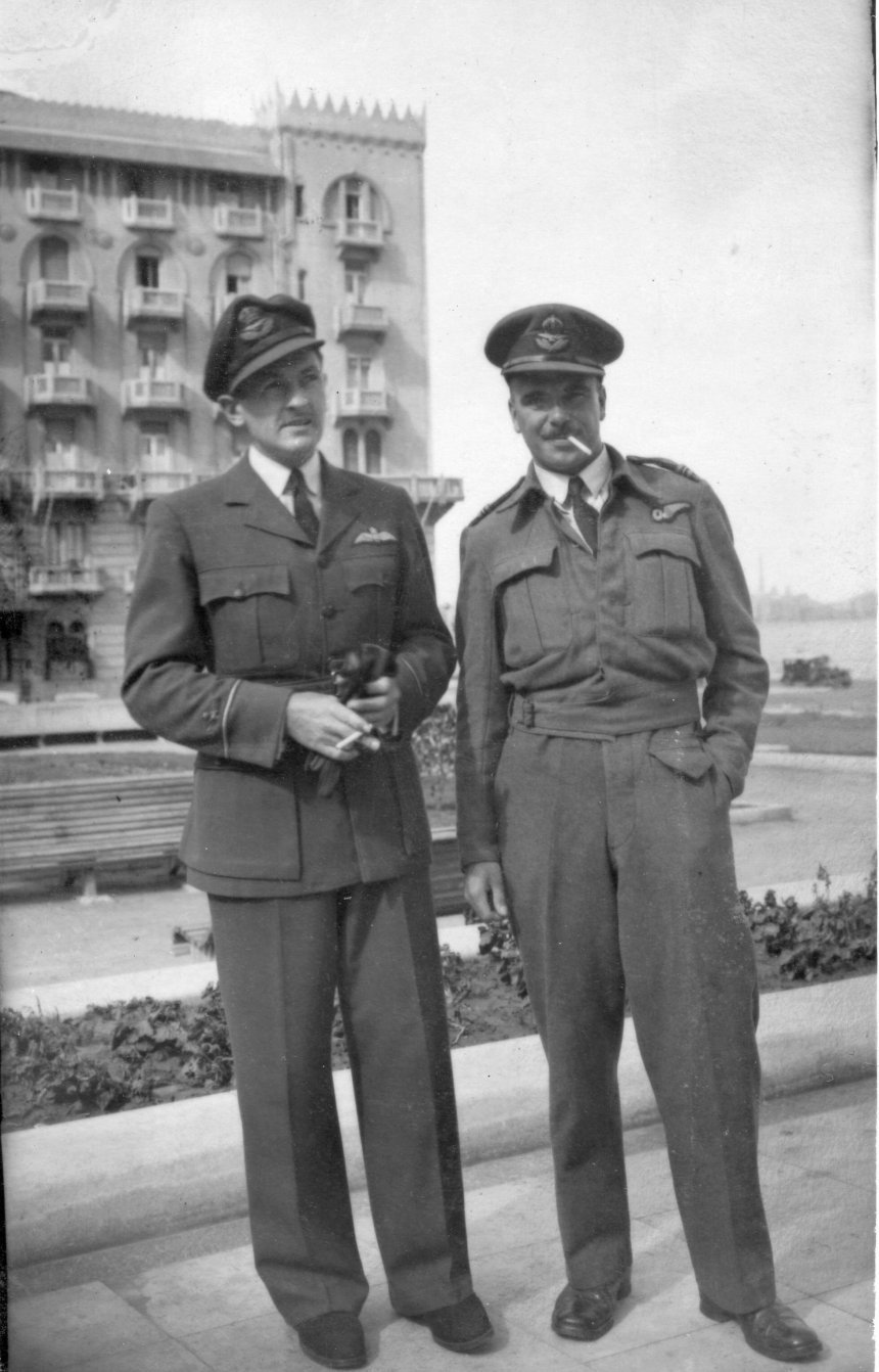 A Newton C Collins taken in Alexandria 1943