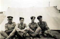 The crew at Cairo - Wally, Jim, Jock & Mike
