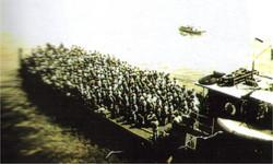 German prisoners we took back to Egypt