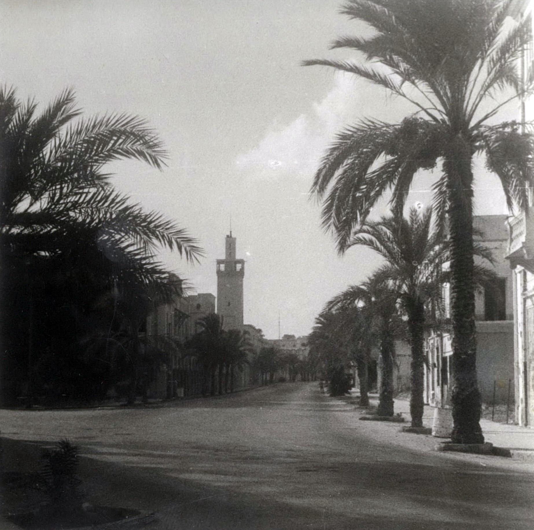 Benghazi Libya 1944 - 1