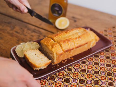 Cake au sirop de citron l'Empirique et huile d'olive