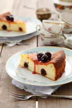 עוגת גבינה ודובדבני אמרנה