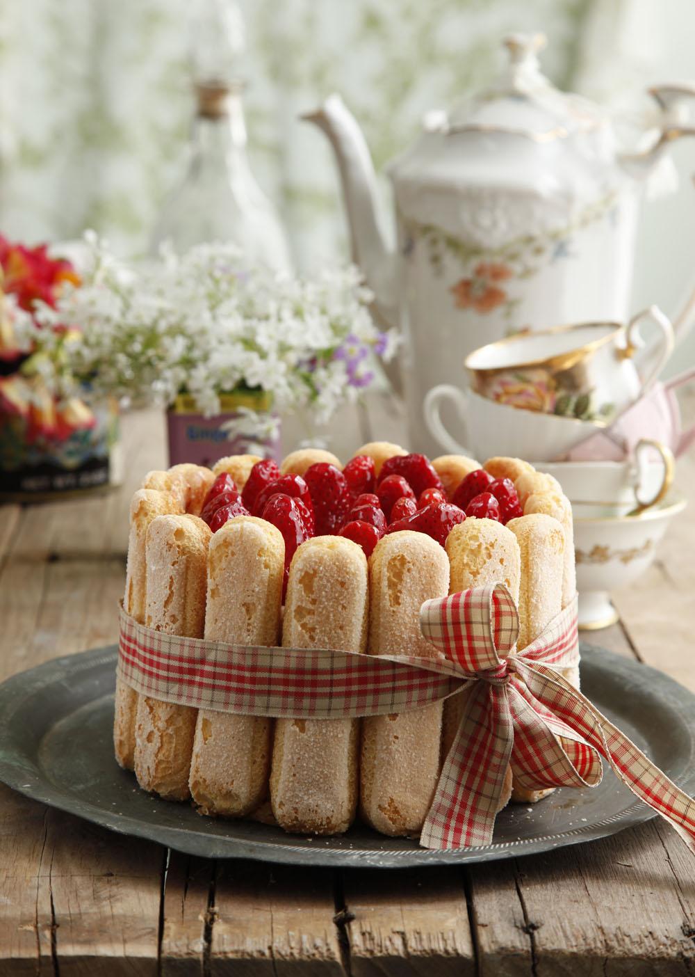 עוגת שארלוט