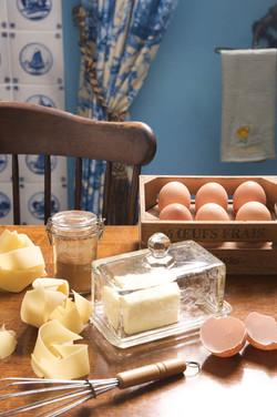 חמאה וביצים