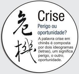 Crise X Oportunidade - O que você escolhe?