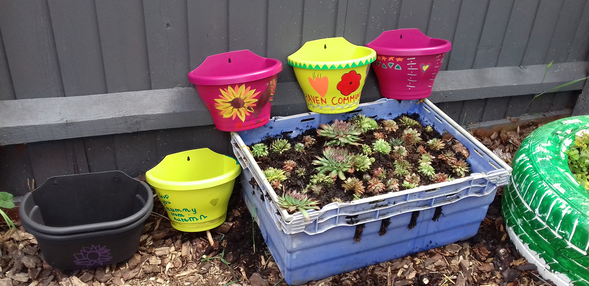 Children's gardening activities
