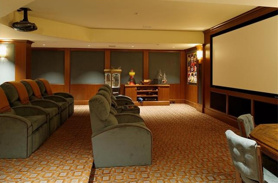 home theather room