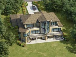 Princeton Residence_Rear Rendering