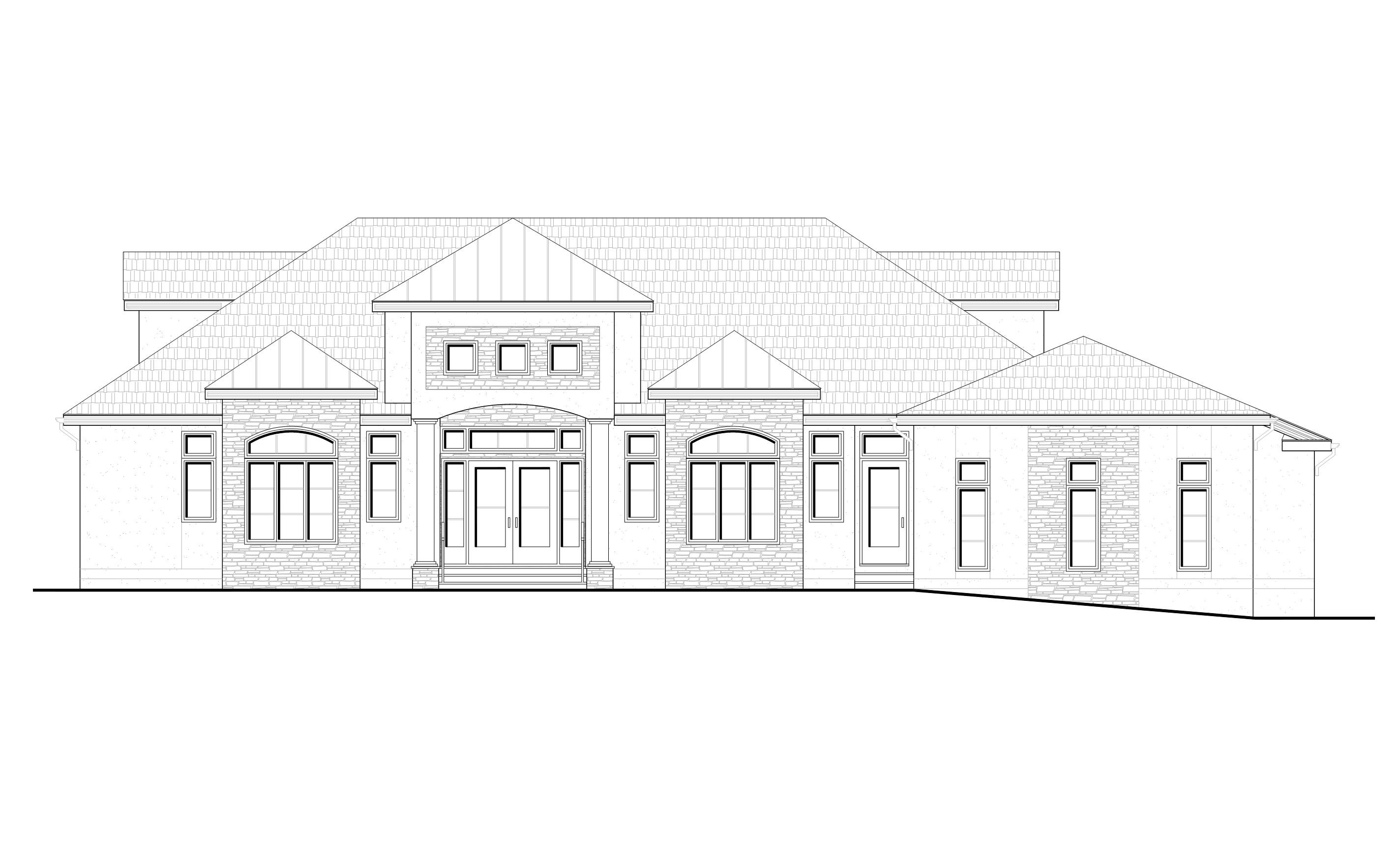 Princeton Residence_Front Elevation