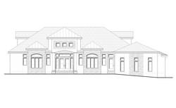 Princeton Residence_Front Elevation