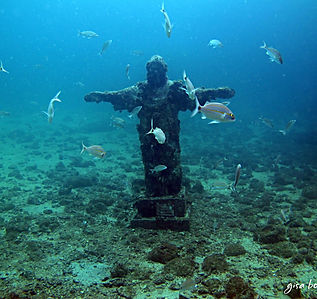 Estátua doCristo Redentor nos Meros