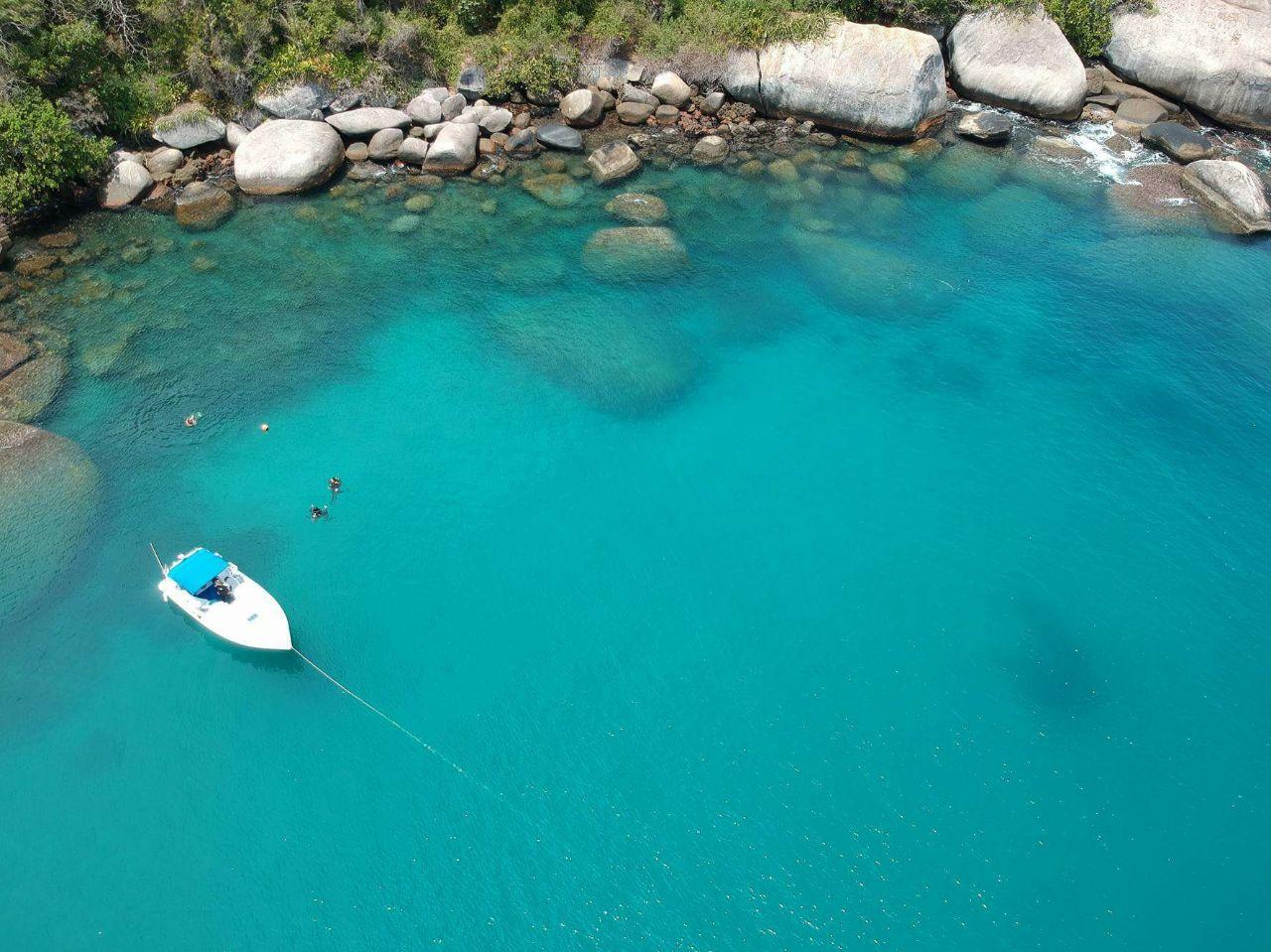 Meros Island - Top view