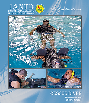 Capa Manual Rescue Diver IANTD