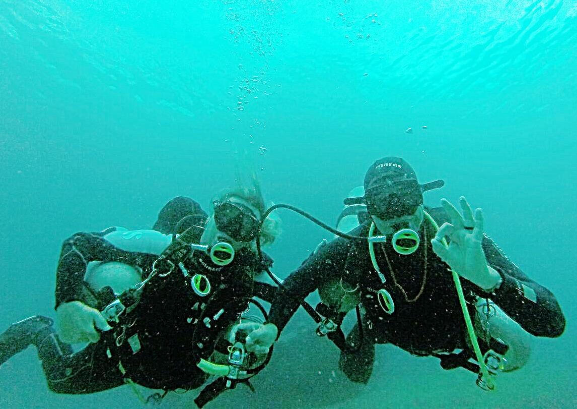 Sidemount Dive Claudia & Sérgio