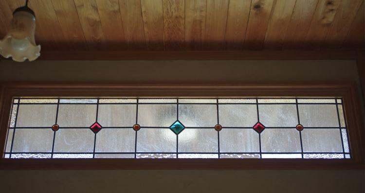 欄間ステンドグラス