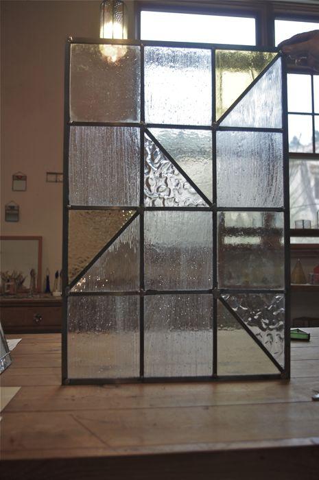 直線ステンドグラス