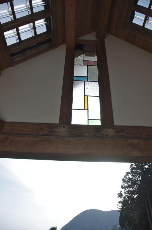 天窓ステンドグラス
