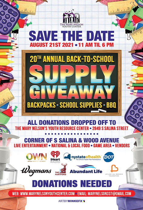 20th ANNUAL SCHOOL SUPPLY GIVE AWAY SAVE THE DATE   050621.JPG