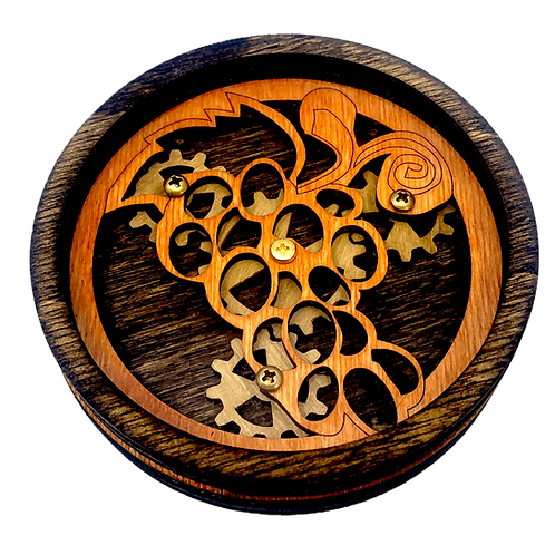 Planetary Gear Grape Coaster