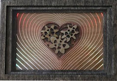 Kinetic Heart Motorized Decorative Wall Box