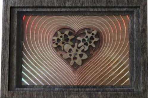 Kinetic Heart Motorized Decorative Wall Box