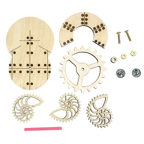 Nautilus Pin Kit