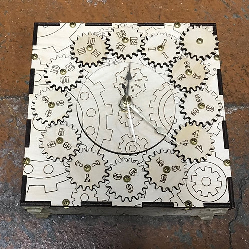 Geared Clock Kit