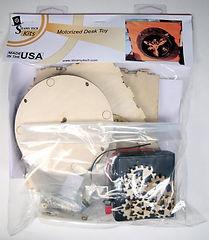 Motorized Kit for Planetary Gear Desk Toy