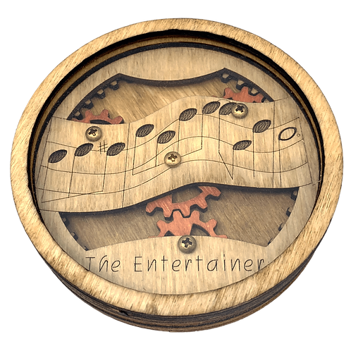 """""""The Entertainer"""" Coaster"""
