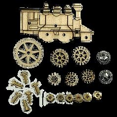 Train Pin Kit