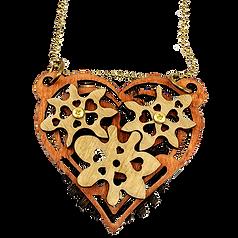 Imaginary Gear Heart Pendant